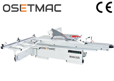 Keselamatan Woodworking Sliding Table Saw Horizontal Style Efisiensi Tinggi